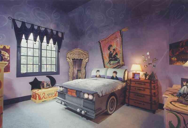 Interior design children 39 s room inerior photo 44 - Camera da letto stile harry potter ...