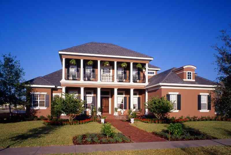 Дизайн квартиры и интерьера - фасады домов - дизайн фото 92.