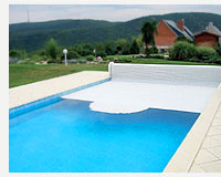 Автоматические Blinds-shelters for swimming pools